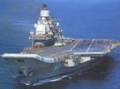 Zapalio se ruski nosač aviona Admiral Kuznjecov