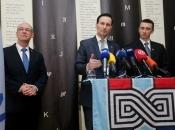 Miro Kovač kandidat za šefa HDZ-a, uz njega Penava i Stier
