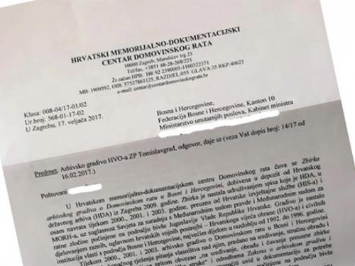 Riješena misterija s papirima HVO-a u Tomislavgradu