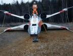 U Sibiru napravili repliku svemirskog lovca Lukea Skywalkera