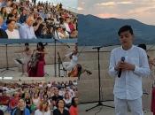 VIDEO: Pozdrav ljetu sa Srđa - Marko Bošnjak oduševio Dubrovčane
