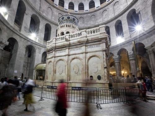 U srijedu će biti predstavljena restaurirana Isusova grobnica