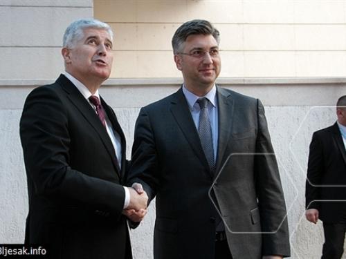 Plenković: Pelješki most 'ide dalje', ako BiH ima nekih pitanja RH će na njih odgovoriti
