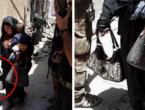 Mosul: Raznijela se s bebom u rukama
