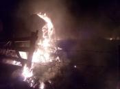 Na Paljikama izgorjela dva plasta sijena
