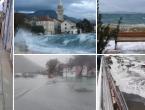 Diljem hrvatske obale izlilo se more, puše orkansko jugo, potop kod Vrgorca