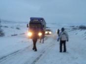 VIDEO: Šujica - Mokronoge: Snijeg i vjetar zaustavili promet