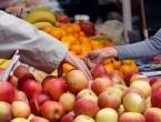 Svo voće na tržnicama, izuzev jabuka, dolazi iz uvoza