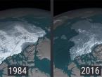 NASA-ine snimke otkrivaju dramatično nestajanje leda na Arktiku