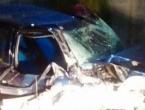Mladić iz Konjica bježao policiji pa automobilom udario u zid