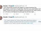 Twitter upozorava: Trump poziva na nasilje