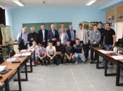 Premijer Vlade HNŽ-a Nevenko Herceg posjetio Osnovnu i Srednju školu u Prozoru