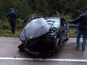 Zbog prometne nesreće obustavljeno prometovanje na putu Prozor - Jablanica