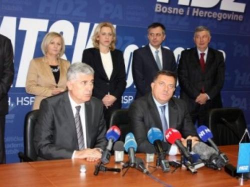 HDZ BiH i SNSD dogovorili koaliciju na svim razinama vlasti