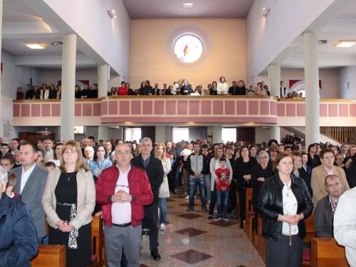 FOTO: Proslava Uskrsa u župi Prozor