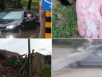 Jako nevrijeme stiglo u Hrvatsku: U Rijeci poplavljene ulice, u Međimurju tuča i velika šteta