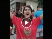 Nevjerojatno: Crnogorci u inat Beogradu po trgovima puštaju Škoru i Thompsona