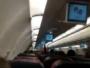Putnici gledali kako gori motor aviona