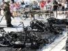 Na splitskoj rivi izgorjelo desetak motocikala
