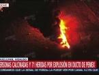 Eksplozija na naftovodu u Meksiku - deseci poginulih