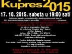 16. festival zabavne glazbe Pop Fest Kupres 2015.