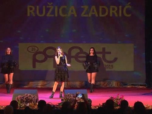 Katarina Zadro iz Rame osvojila 3. mjesto na ''Pop Fest Kupres 2019.''