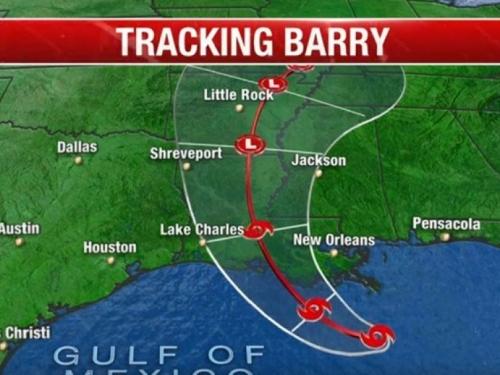 Uragan Barry približio se obali Louisiane