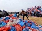 Nepal: Od 100.000 plastičnih vreća napravili mapu Mrtvog mora