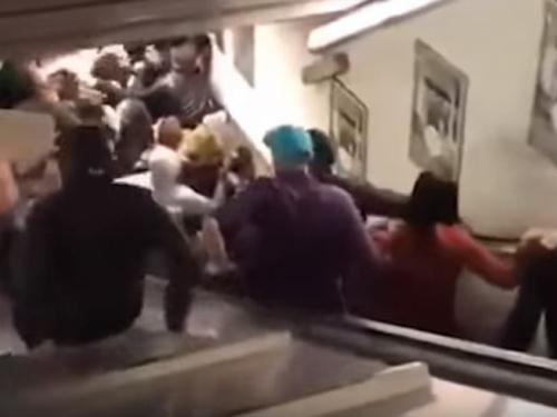 VIDEO: Popustile pokretne stepenice, ozlijeđeno 20 osoba