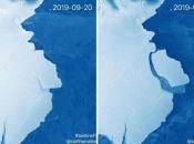 Santa leda teška 315 milijardi tona odvojila se od Antarktike