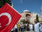 Turska planira zastorima ili laserima prekrivati mozaike u Aji Sofiji tijekom molitve