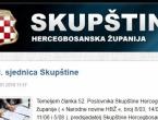 Hercegbosanska županija od 1. travnja u financijskoj blokadi?
