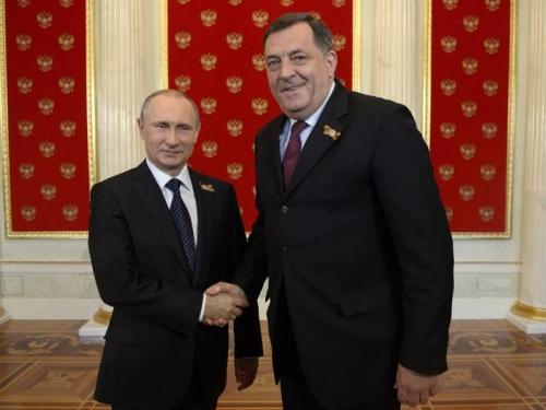 Dodik se sastaje s Putinom