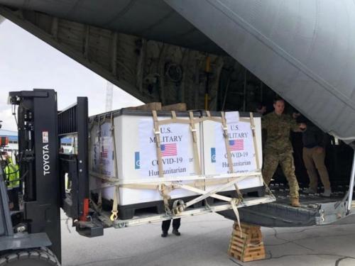 Amerika poslala pomoć BiH, stigla prva pošiljka