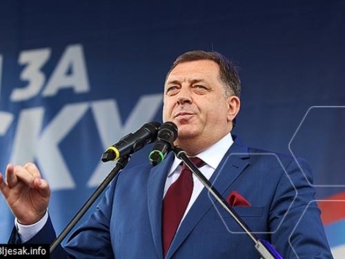 Dodik: Republika Srpska pripada Srbiji