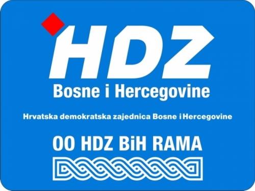 OO HDZ BiH Rama: Podanički odnos načelnika Ivančevića prema Dželiloviću