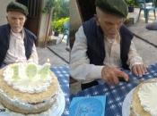Mijo proslavio 104. rođendan riječima: ''Hrvatski čovjek bio je tenk, što je sve preživio''