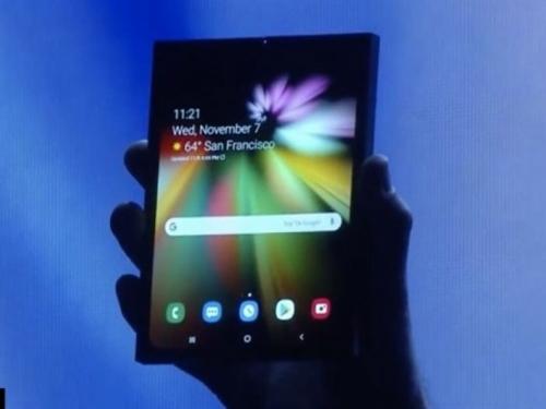 Samsung predstavio prvi savitljivi pametni telefon i oduševit će vas