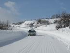 U Bosni oblačno sa slabim snijegom ili rosuljom, u Hercegovini vedro