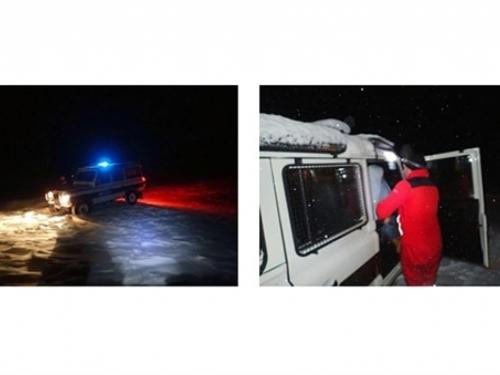 GSS se probijao kroz snijeg da spasi djevojčicu iz odsječenog sela