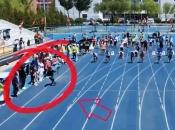 Kamerman s opremom trčao brže od sprintera na utrci 100 metara i postao hit na internetu