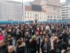 Prosvjedi u Zagrebu: Stotine bez maski i distance, žele ukidanje mjera