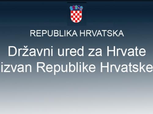 Natječaj za dodjelu stipendija Hrvatima izvan Republike Hrvatske