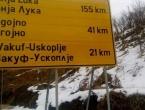 Na cestovnom pravcu Prozor-Rama - Uskoplje: Ploča puna pravopisnih grešaka