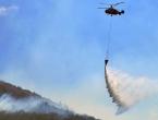 Dug dan pred vatrogascima u Jablanici: Požar gasi i helikopter Oružanih snaga