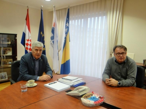 Čović i Nikšić u Mostaru tražili rješenja