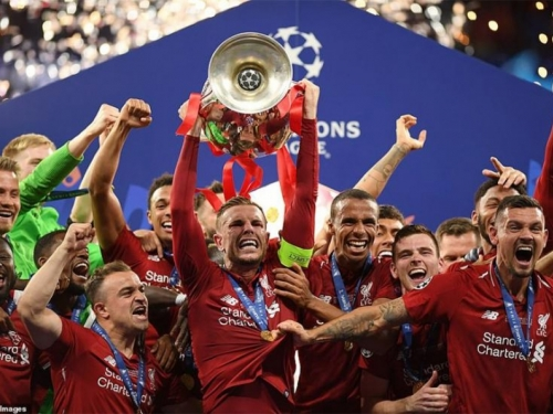 Liverpool šesti put pokorio Europu
