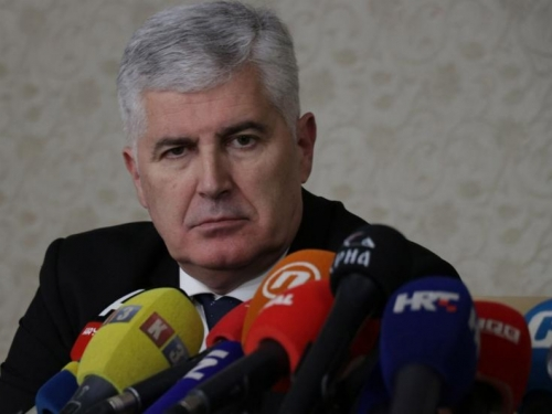 Čović upoznao Dodika s organizacijom izbora u Mostaru
