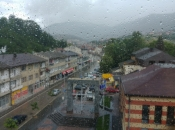 U nedjelju oblačno s kišom, na planinama snijeg