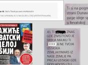 Objavljene neke od prijetnji koje je dobilo vodstvo hrvatske manjine u Srbiji